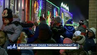 Canadian Pacific Holiday Train visits Wisconsin - Video
