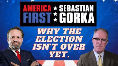 Why the election isn't over yet. Phill Kline with Sebastian Gorka on AMERICA First