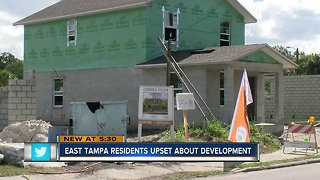 East Tampa residents upset about development