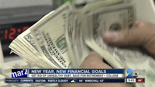 Ditch weight loss, make finances your New Year's resolution