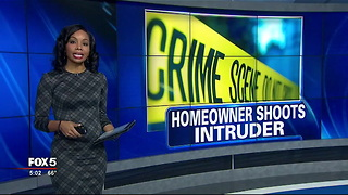 Pastor shoots suspected intruder - Video  WAGA - Video