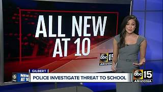Threat made towards Gilbert Elementary School - Video