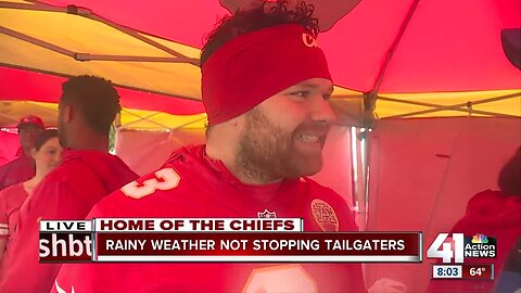 Chiefs fans ready for home opener
