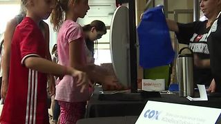 Final back-to-school fair held at Downtown Summerlin - Video