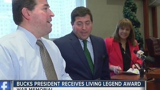 Milwaukee Bucks President Peter Feigin earns Living Legend Award - Video
