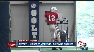 Report: Andrew Luck close to throwing again - Video