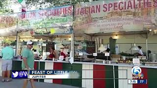 Feast of Little Italy held in Jupiter - Video
