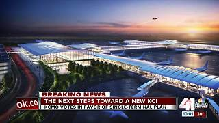 Voters approve new, single-terminal KCI - Video