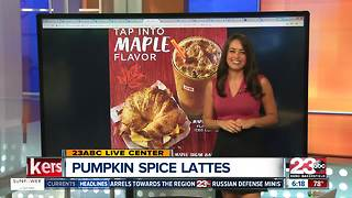 Pumpkin Spice is back and Maple Pecan coffee is here - Video