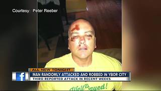 Man randomly attacked, robbed in Ybor City - Video