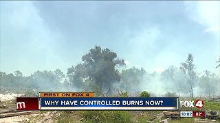 Prescribed burns during dry season dangerous but necessary