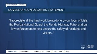 DeSantis: Florida protests 'largely peaceful'