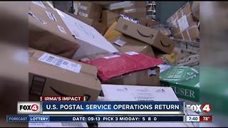 USPS service operations return to normal after Hurricane Irma - Video