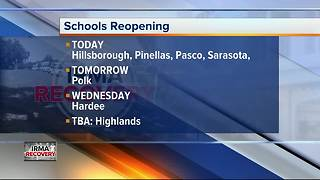 Back-to-school after Irma: Most schools reopen, some counties remain closed - Video