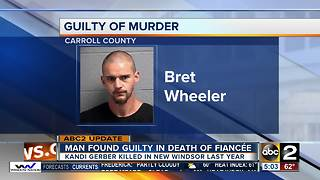 Man found guilty for fiancée's murder in Carroll County - Video