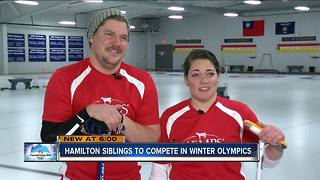 Wisconsin siblings going for curling gold - Video