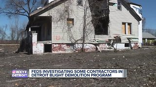Detroit Demolition Program under increased federal scrutiny