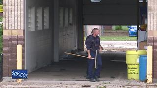 Fire station flooded - Video