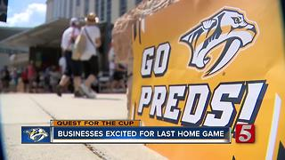 City Ready For Last Home Game Of Stanley Cup Final