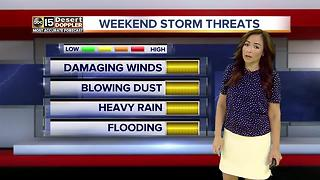 Storm chances increasing in Arizona - Video
