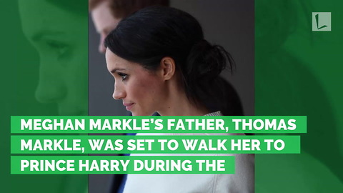 Prince Charles Steps In To Walk Meghan Markle Down Aisle After Her Father Backs Out