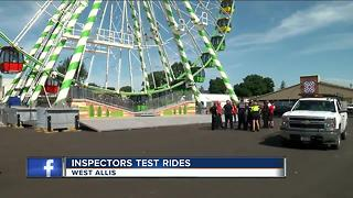 Wisconsin State Fair cancels ride after Ohio accident - Video