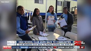 Kern's Kindness: Independence High School's United Nations Club