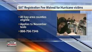 College Board waiving SAT fee, financial aid profile fee for students impacted by Hurricane Irma - Video