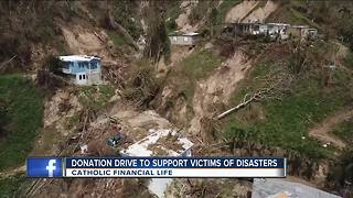 Donation drive to support Puerto Rico victims - Video