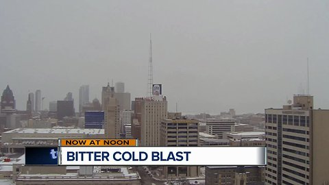 Bitter cold blast with next storm system
