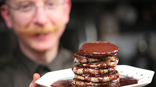 Paul A. Young's indulgent chocolate pancake recipe - Video