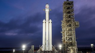 What To Know About SpaceX's Falcon Heavy Rocket Before It Launches - Video