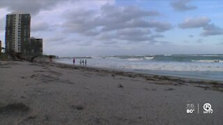 Beach erosion happening up and down the coastline