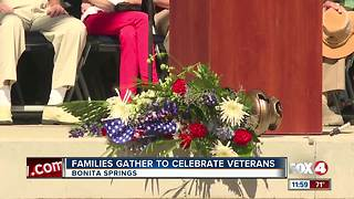 Families Gather to Celebrate Veterans