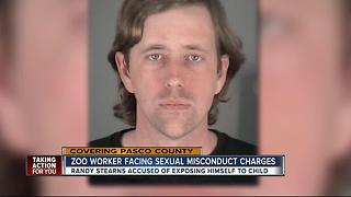 Wild Things head trainer charged with exposing himself to girls - Video