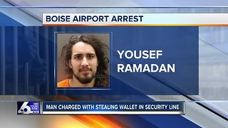 Police: Wallet thief tracked and arrested at Boise Airport