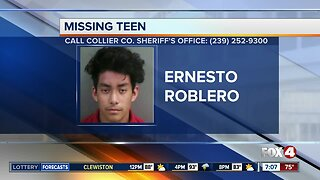 Collier teen reported missing Tuesday
