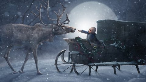 Photographers create magical Christmas portraits for 200 sick children around the world