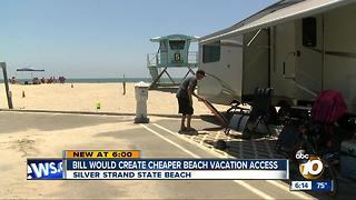 Bill would create cheaper beach vacation access - Video