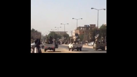 Convoy of Militants Fires Guns to Disperse Protesters at Khartoum Hospital