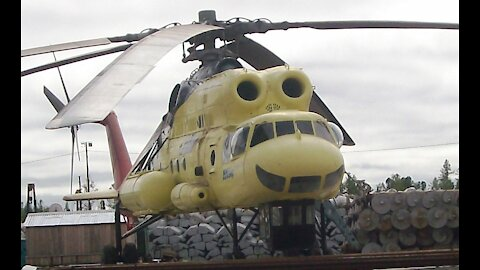 The last contract of the legendary helicopter MI-10k