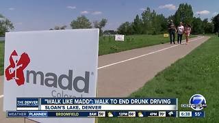 'Walk Like MADD' Saturday in Denver to combat drunk driving - Video