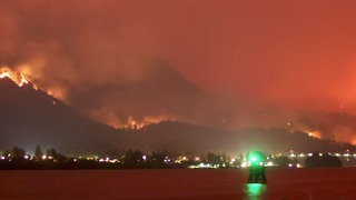 Timelapse Captures Stunning View of Oregon's Eagle Creek Fire - Video
