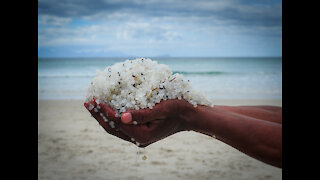 Millions of nurdles washing up on SA Coastline
