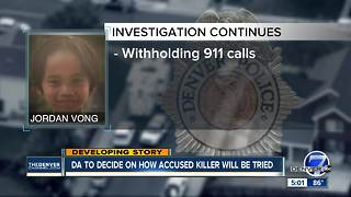 Teen girl accused of murder in death of 7-year-old Jordan Vong held without bond after court hearing - Video