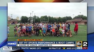 Get Fit Sports Performance & Boot Camps Shout Out - Video