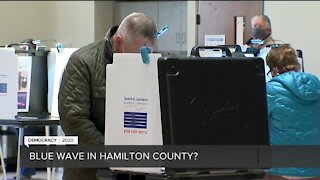 Is there a blue wave in Hamilton County?