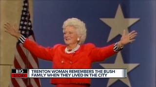 Former metro Detroit neighbor of Barbara Bush says she feels 'honored' to have met her - Video