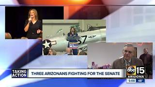 Senate race heats up in Arizona - Video
