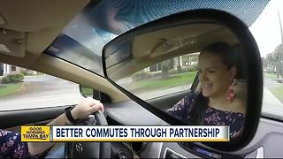 Hillsborough County partnership with Waze is helping drivers get to work on time - Video